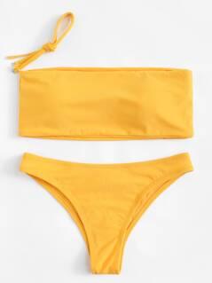 Detachable Straps Bikini Set