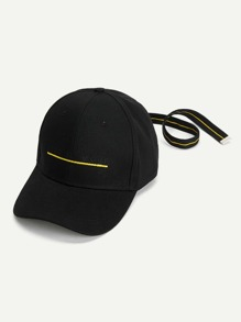 Slogan Embroidered Baseball Cap