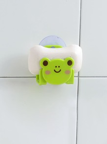 Suction Cup Frog Soap Holder ROMWE