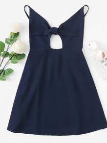 Cut Out Front Cami Dress