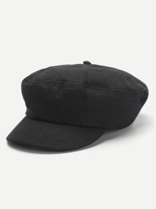 Plain Baker Boy Hat