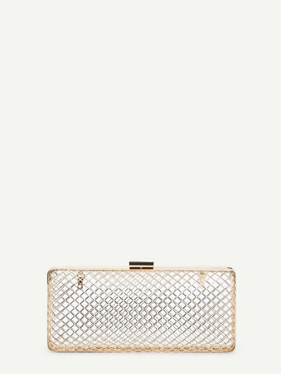 Creux Clutch Chain Bag