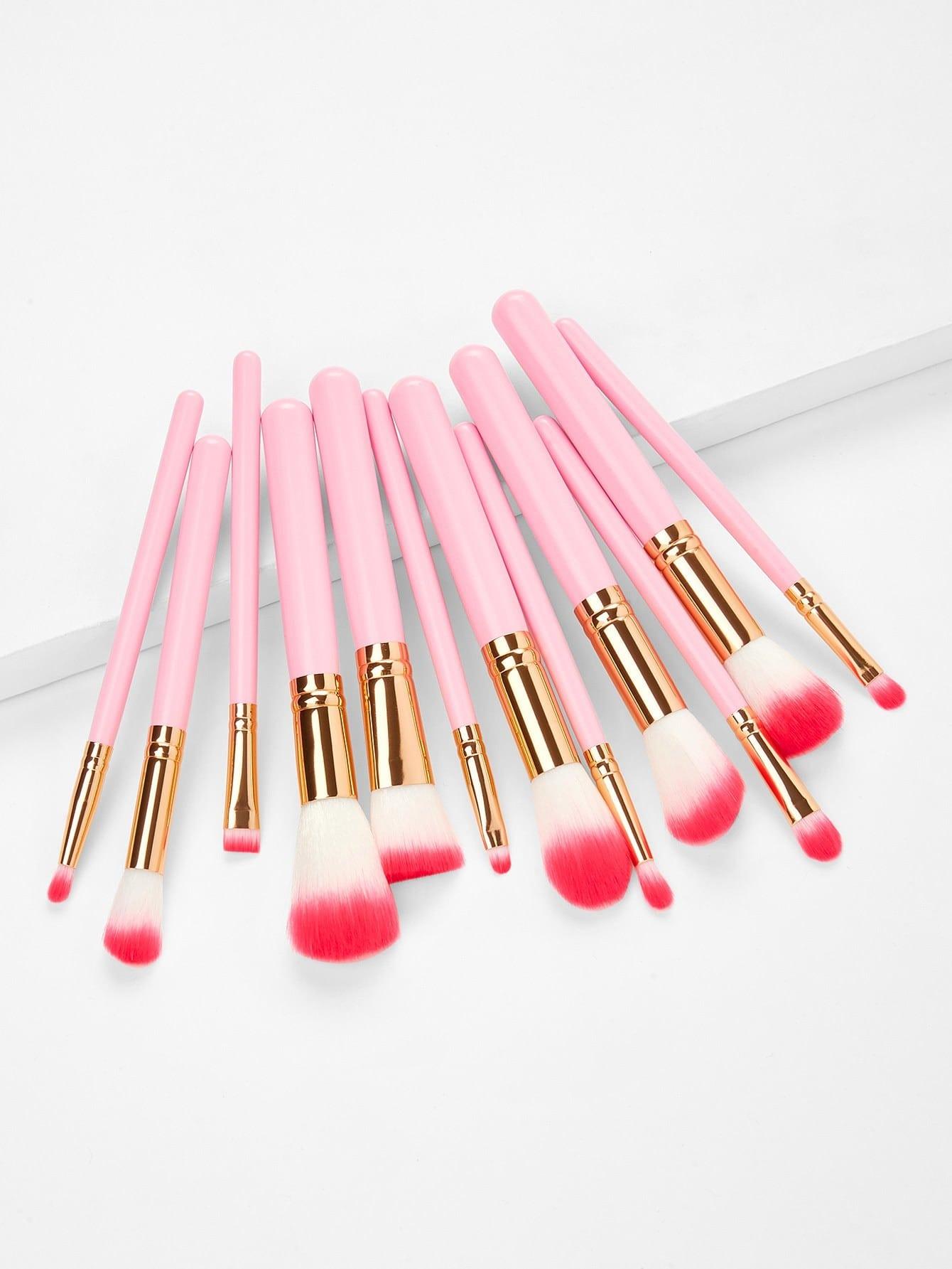 Ombre Bristle Makeup Brush 12pcs ombre bristle makeup brush 12pcs