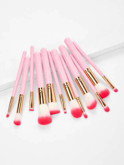 Ombre Bristle Makeup Brush 12pcs