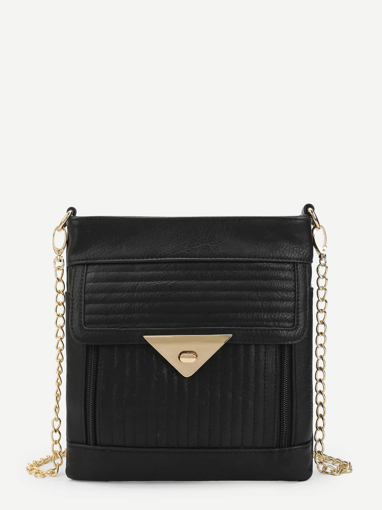 Chain Pouch Bag With Pushlock все цены