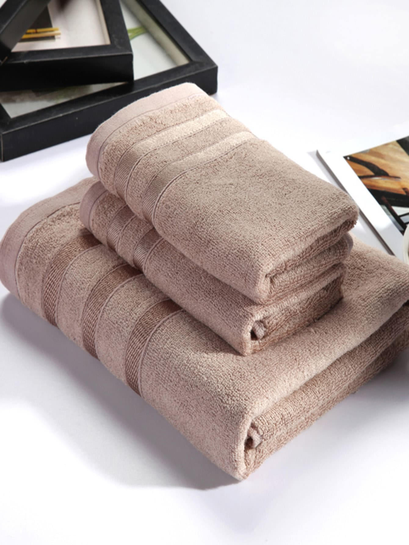 Bath Towel Set 3pcs jane eyre level 5 cd