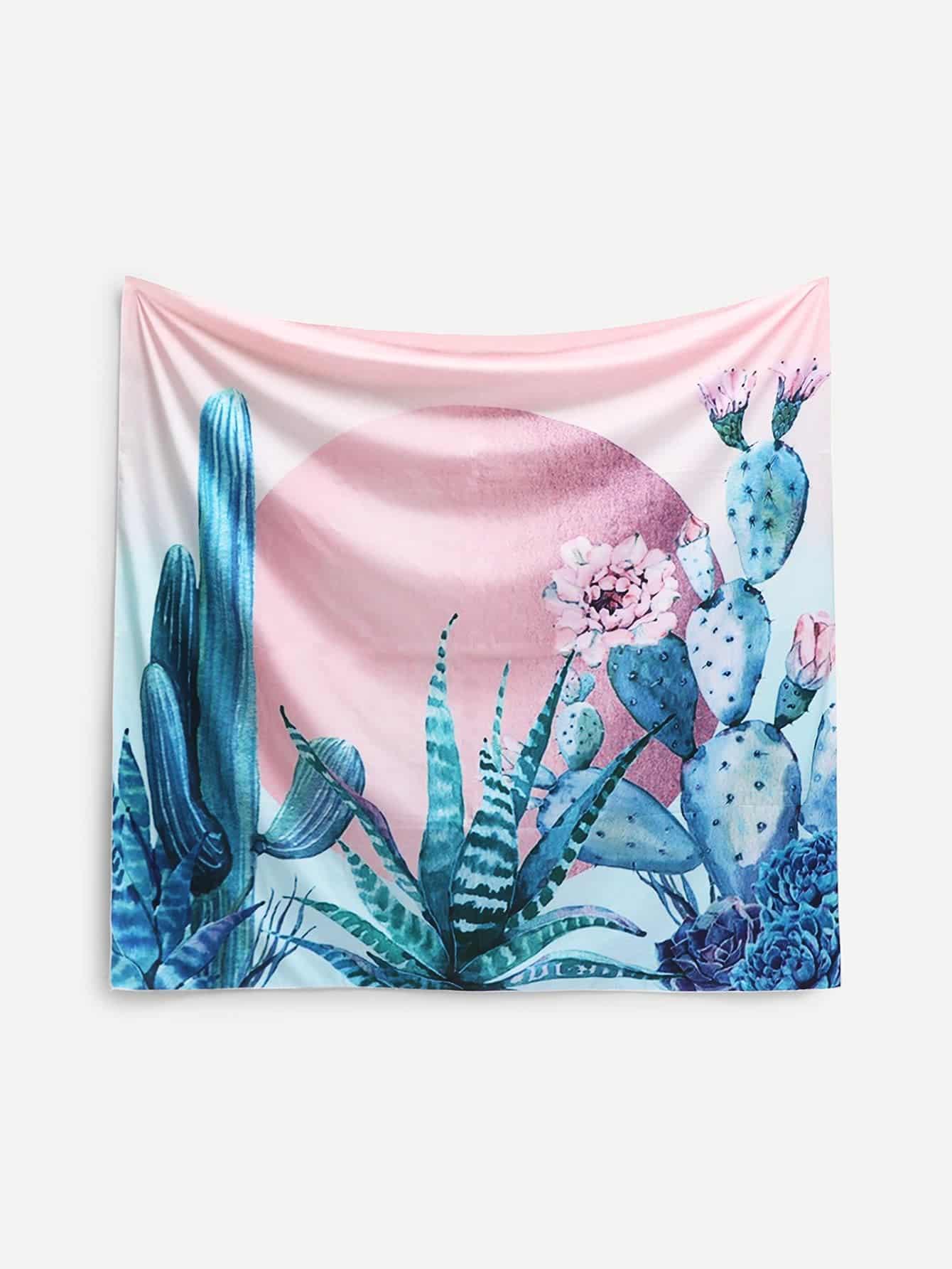 Купить Модный ковёр на стену с принтом, null, SheIn