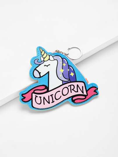 Unicorn Design Purse Bag
