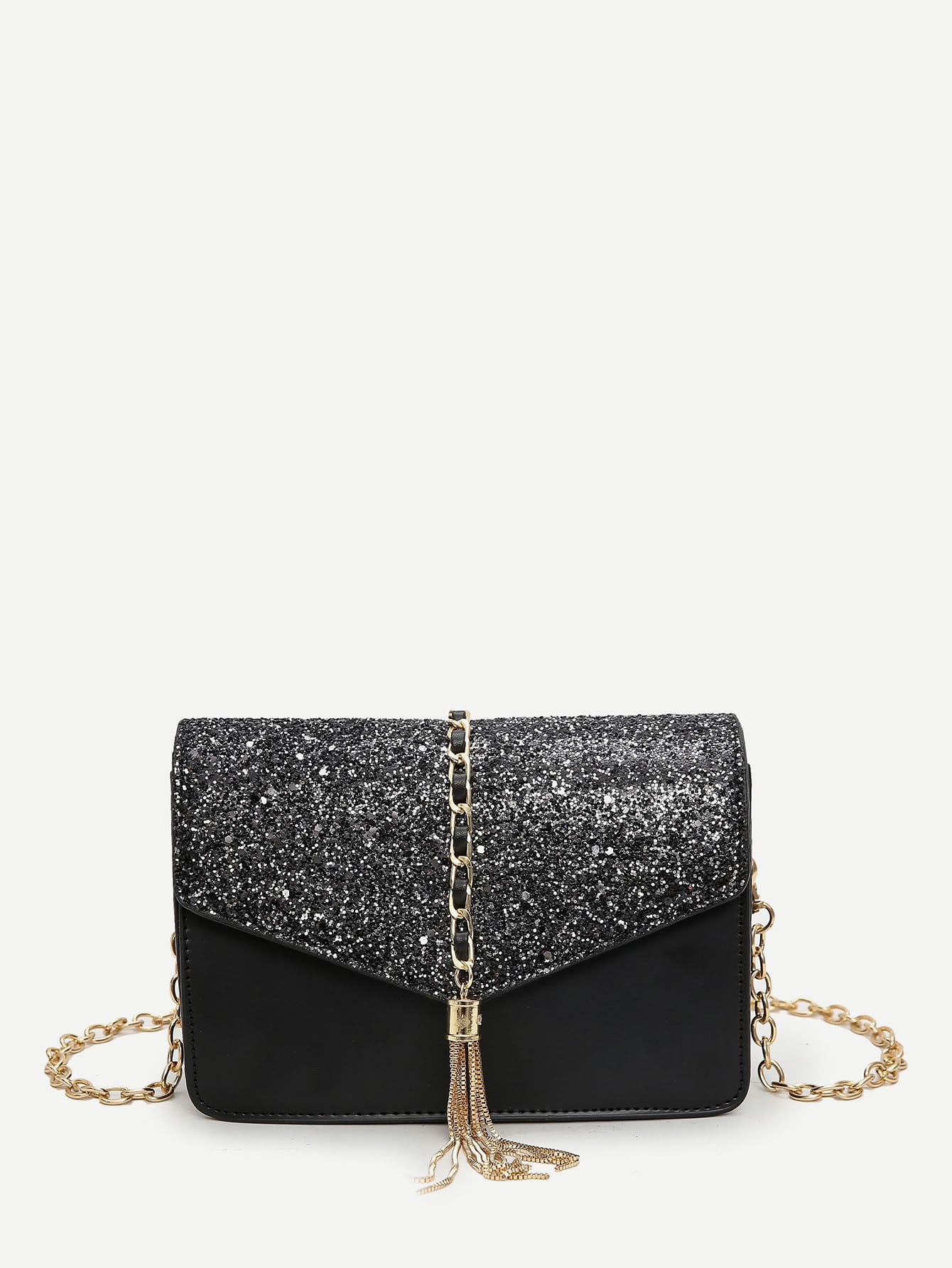 Tassel Decor Glitter Chain Bag бензобак на иж 27175