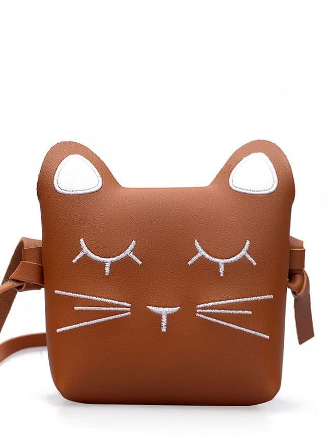 Animal Print Ear Detail Shoulder Bag