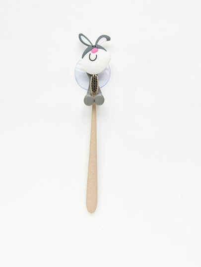 Cartoon Rabbit Toothbrush Sucker 1pc