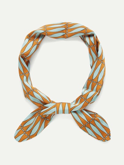 Two Tone Twilly Scarf