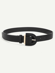 Minimalist PU Belt