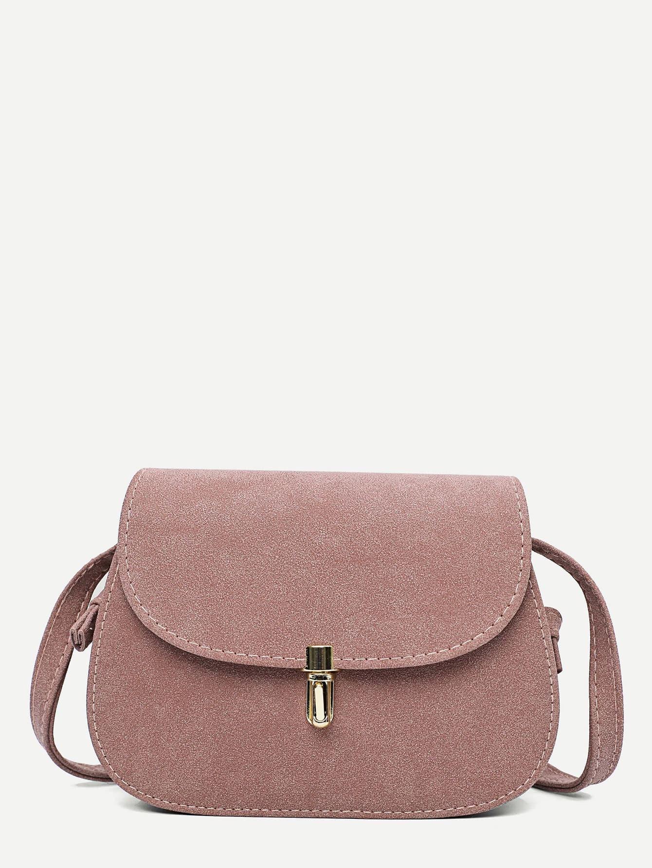 Metal Detail Saddle Bag