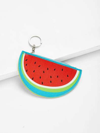 Watermelon Shaped Coin Purse