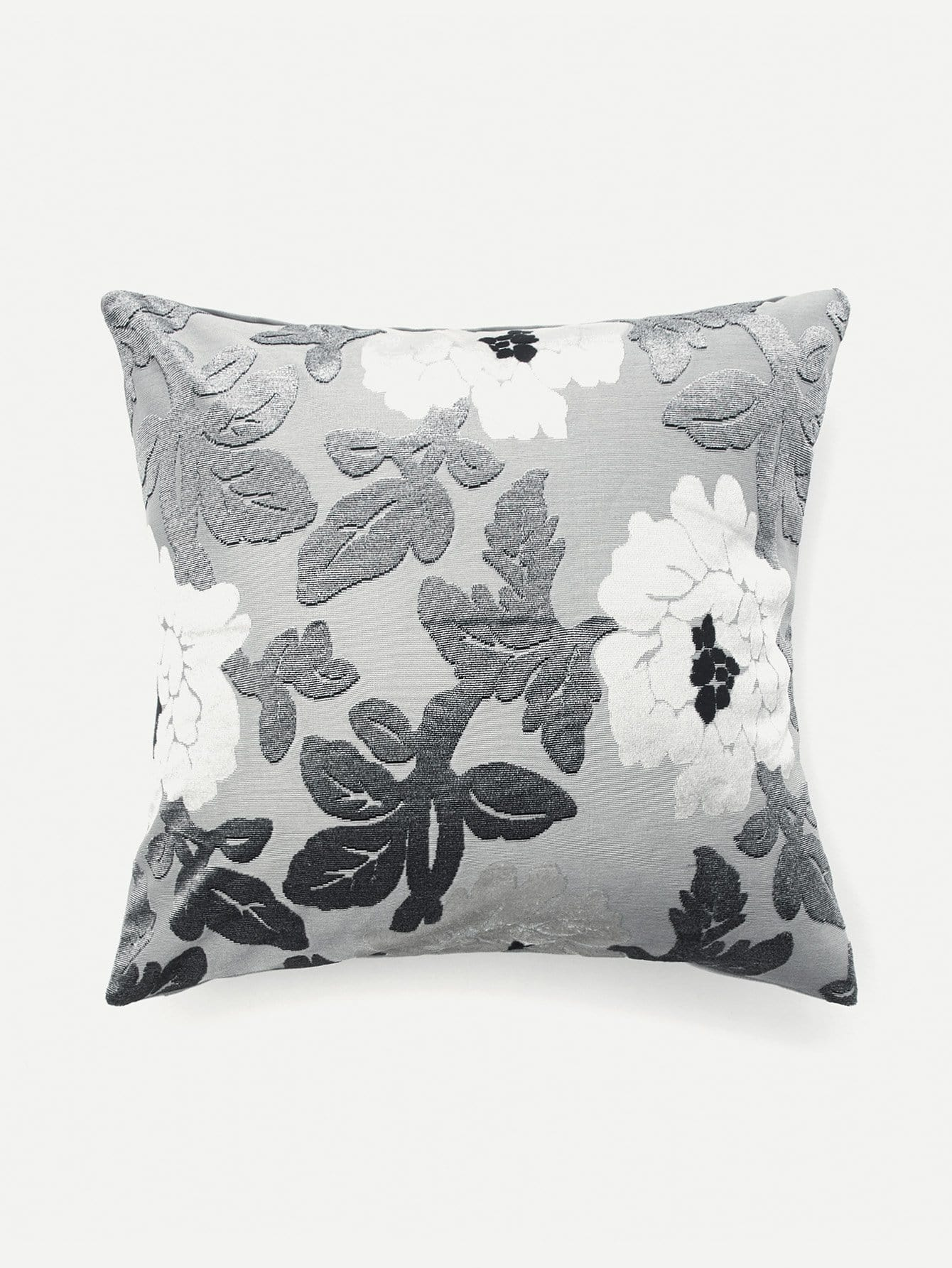 Flower Pattern Pillowcase Cover pillowcase classic style wave pattern car comfy back cushion cover