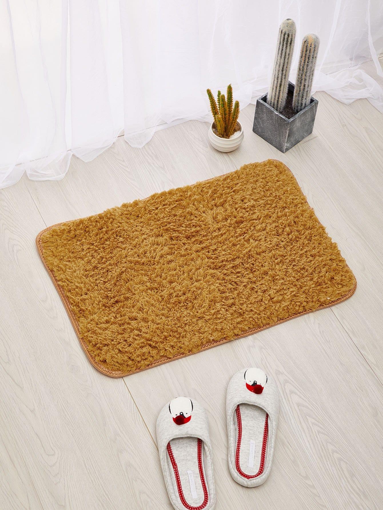 Washable Fluffy Door Mat patchwork door mat