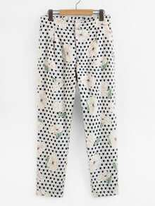 All Over Florals Pants