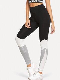 Cut And Sew Leggings
