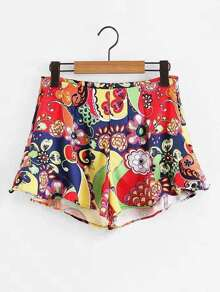 All Over Florals Shorts