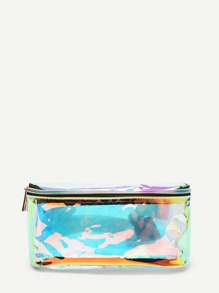 Iridescent PU Bum Bag