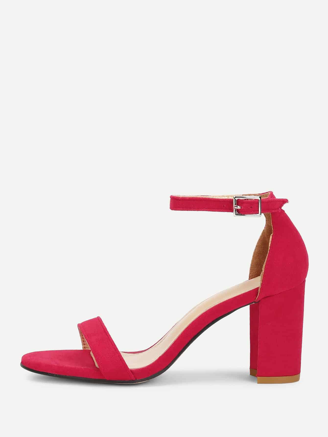 Купить Стильные туфли на высоком каблуке, null, SheIn