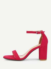 Mary Jane Heeled Sandals