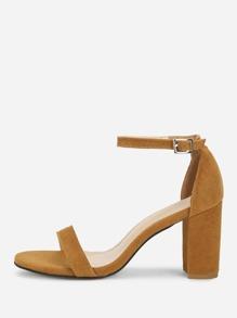 Mary Jane Heeled Sandals