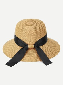 Knot Band Straw Hat