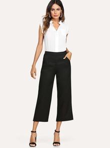 Button Front Shirt & Pants