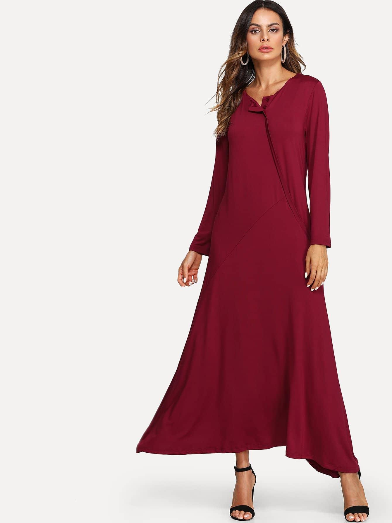 Button Front Longline Dress button front strap dress