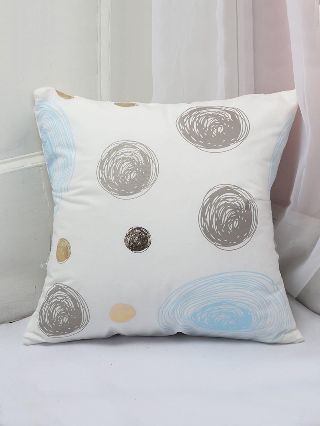 Graffiti Print Cushion Cover cartoon animal print cushion cover