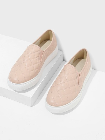 Zapatillas guateada slip on