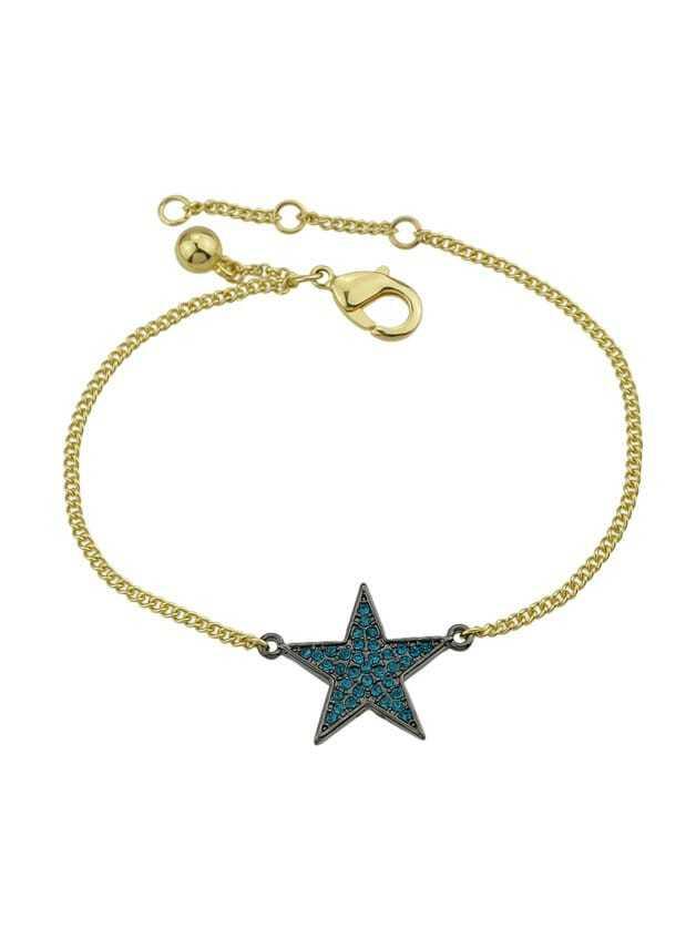 Gold Diamond Star Bracelet все цены