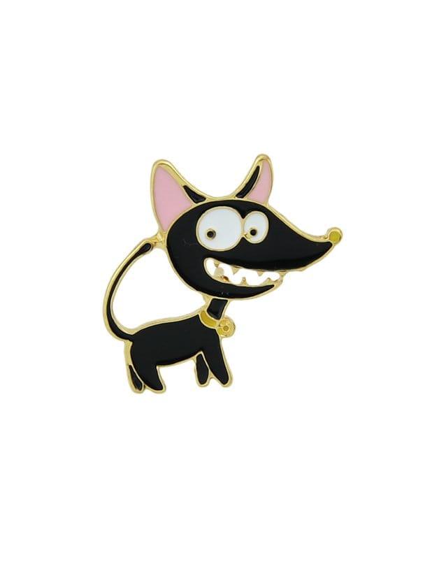 Black Cartoon Animal Brooch black cartoon animal brooch