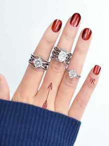 Retro Hollow Ring