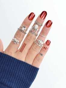 Vintage Totem Ring