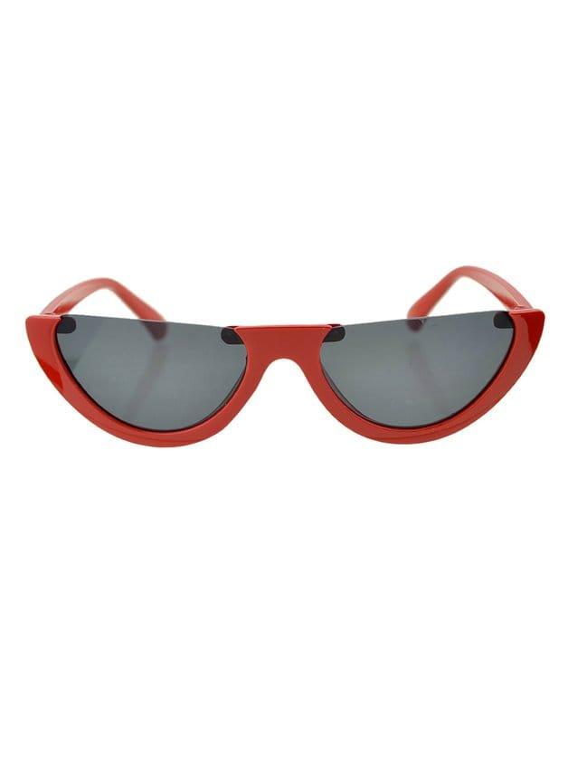 Redgray Half-Frame Sunglasses