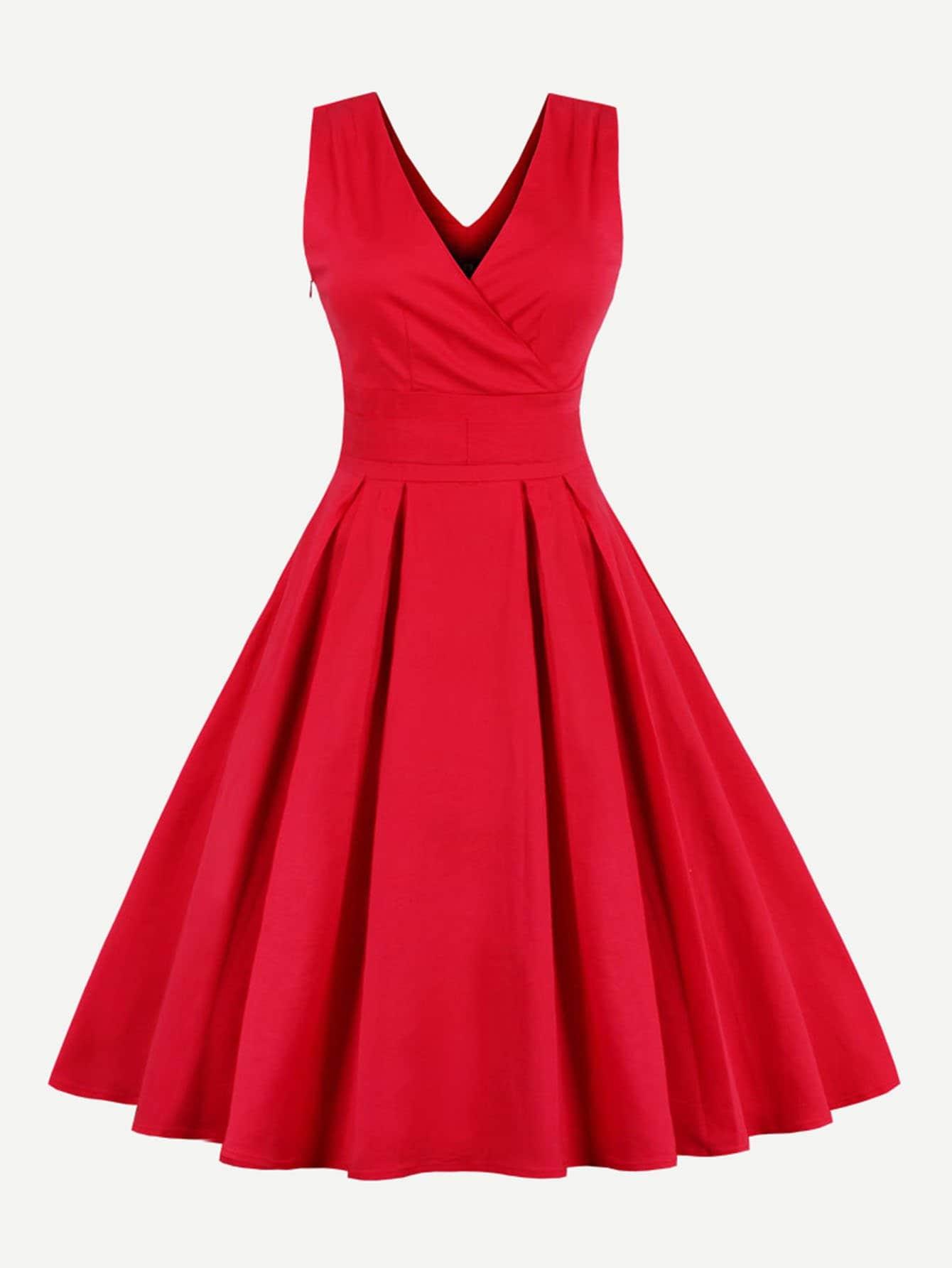 Купить Платье с запахом, null, SheIn