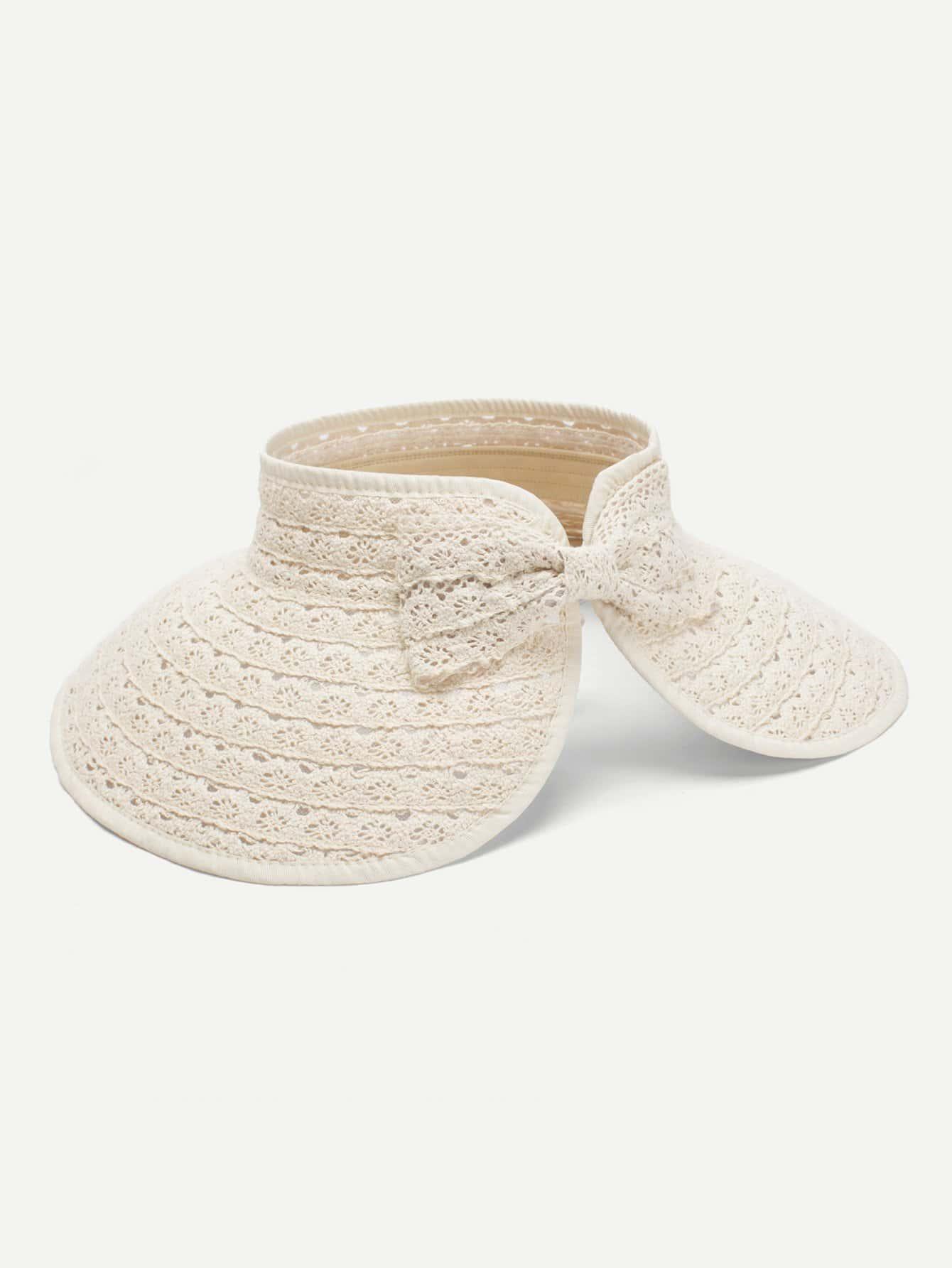 Crochet Visor Hat With Velcro hot winter beanie knit crochet ski hat plicate baggy oversized slouch unisex cap