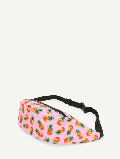 Pineapple Print Bum Bag