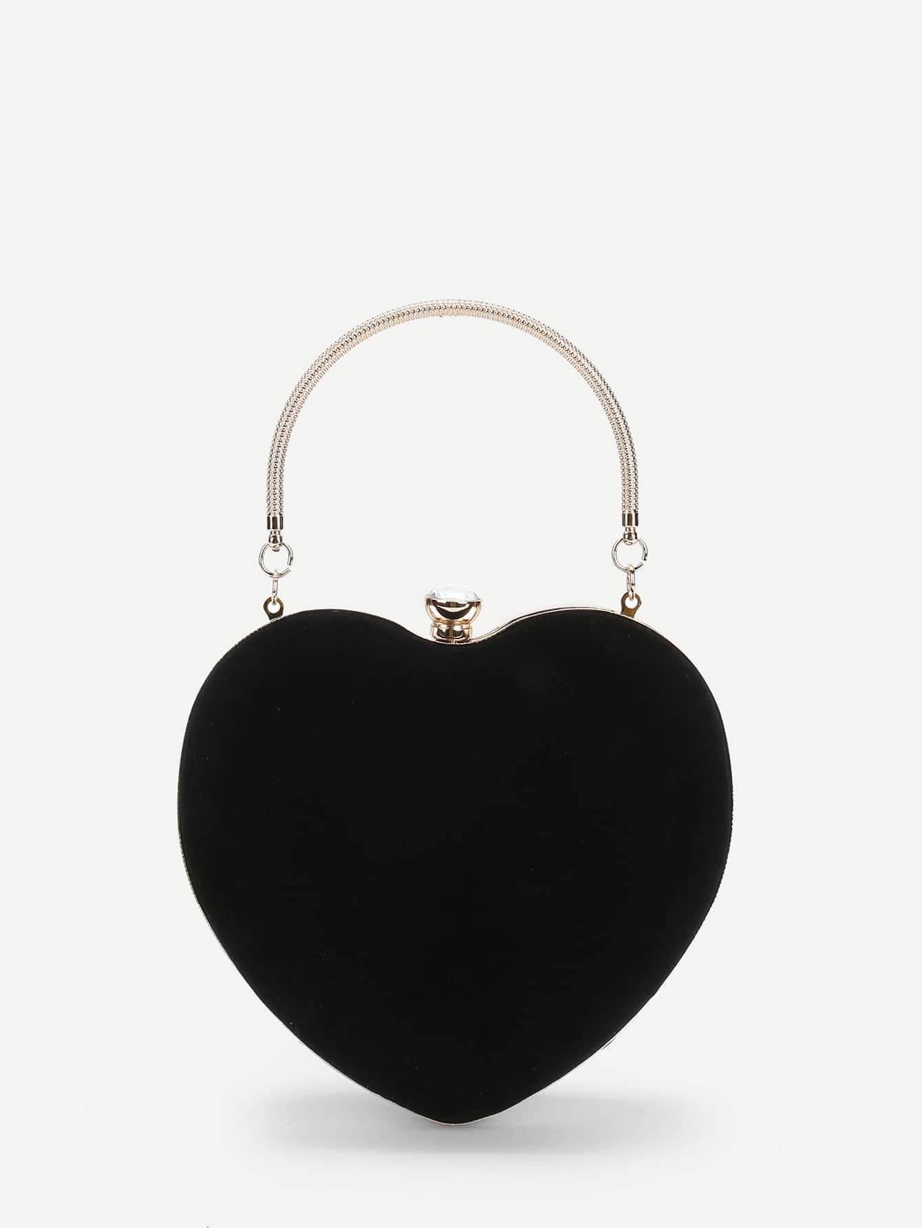 Heart-shaped Wallet With Ring Handle шины pirelli p zero direzionale 245 45 r18 96y