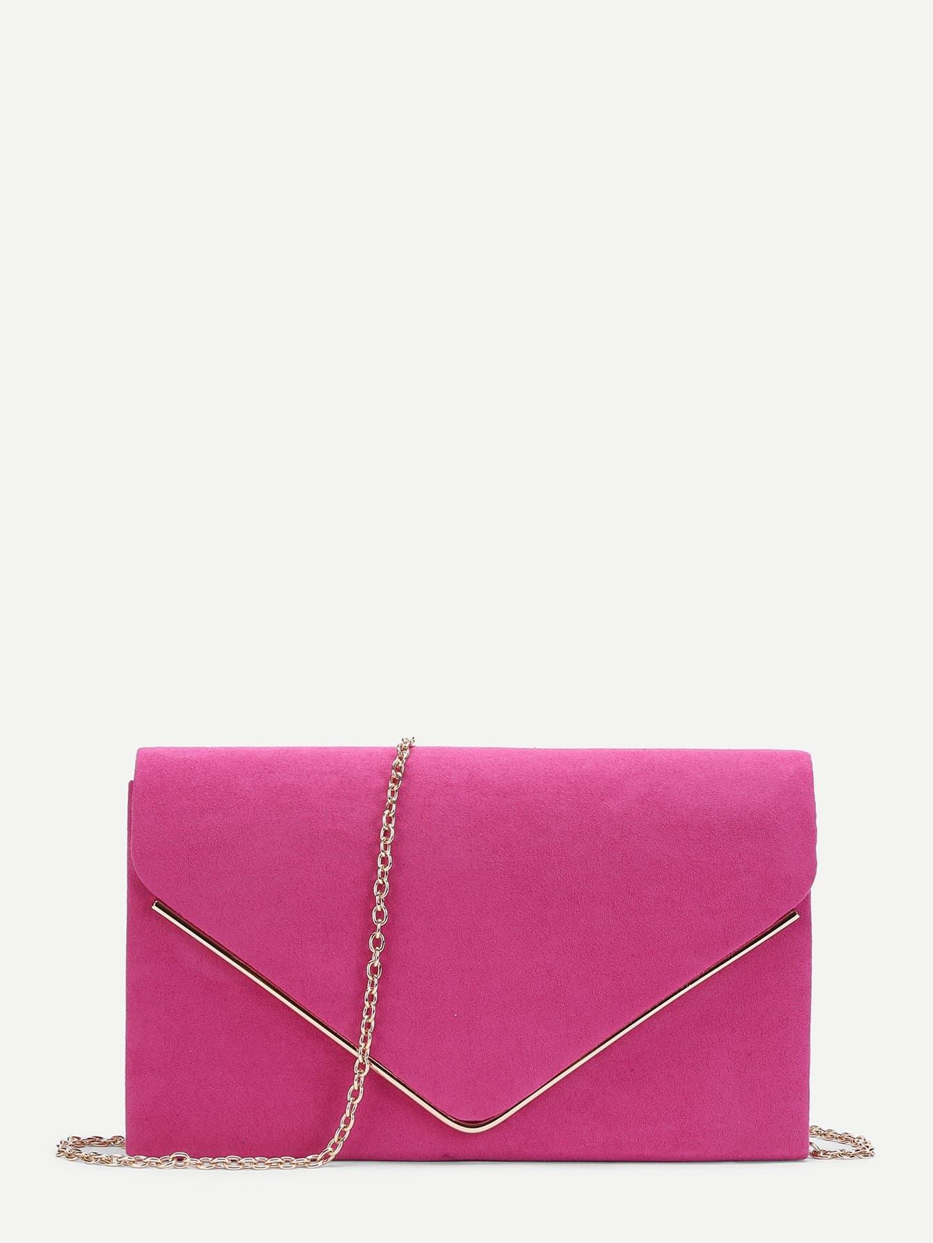 Suede Envelope Clutch Bag transparent envelope clutch bag