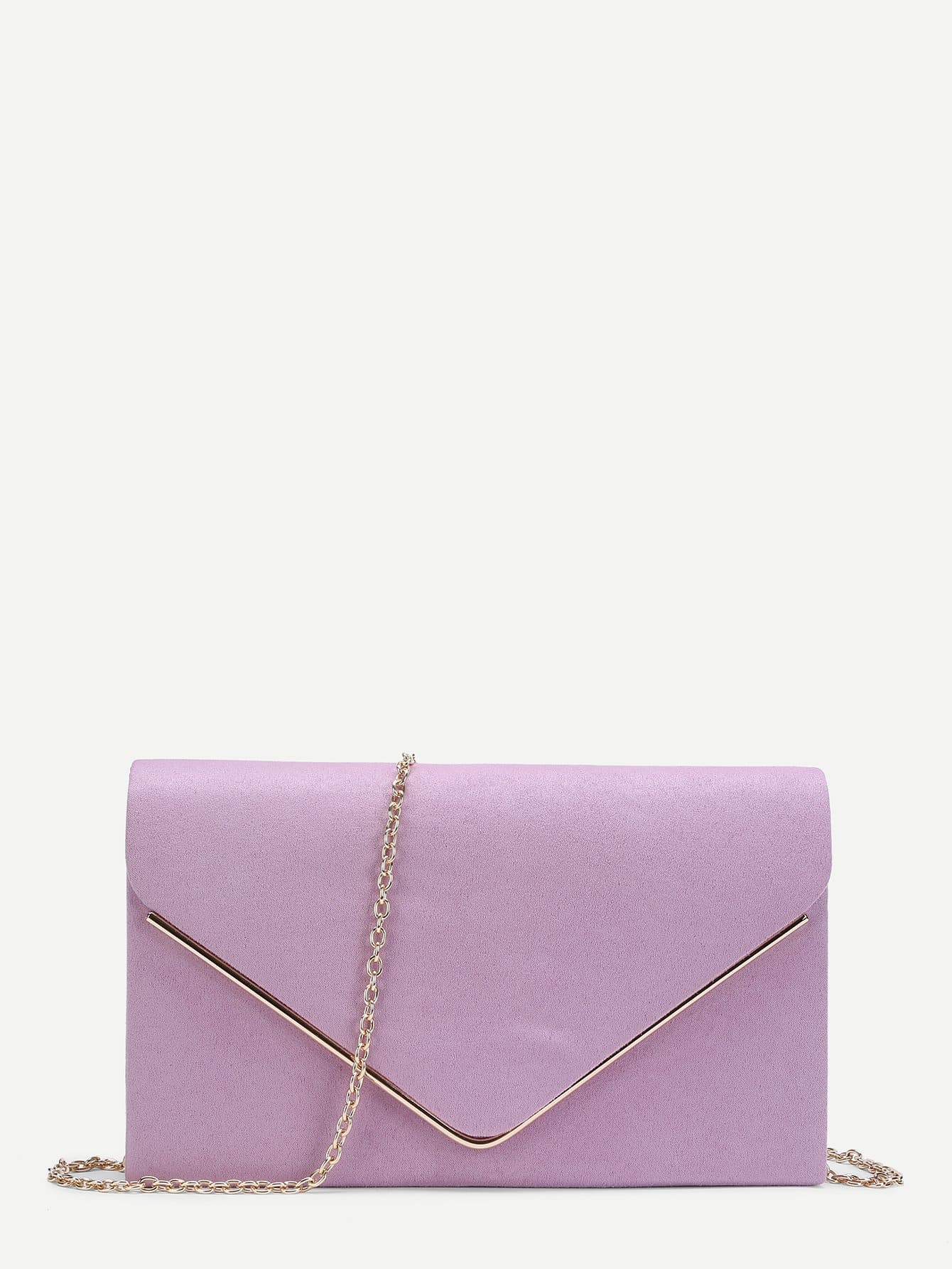 Suede Envelope Clutch Bag поло baon р m 48