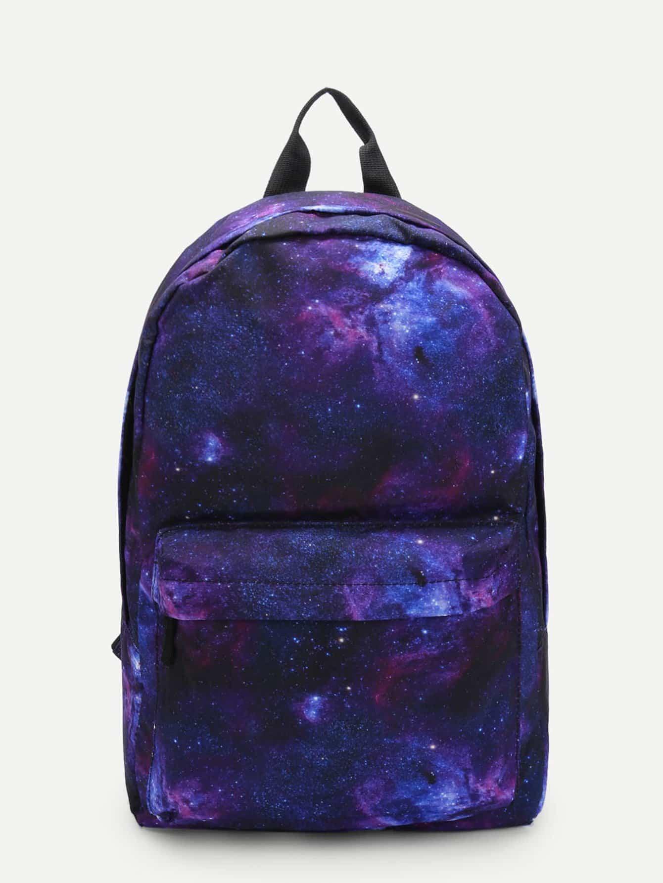 Starry Sky Backpacks Bag redlai starry sky marble camouflage hard