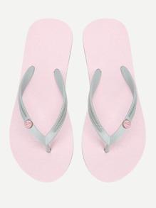 PVC Flip Flop Sandals