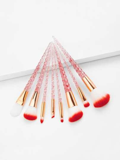 Glitter Handle Makeup Brush 8pcs