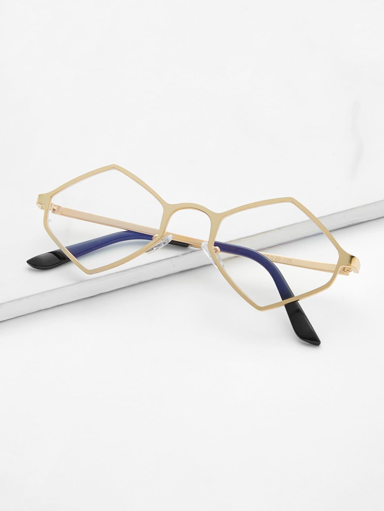 Metal Frame Glasses sunglass180409304
