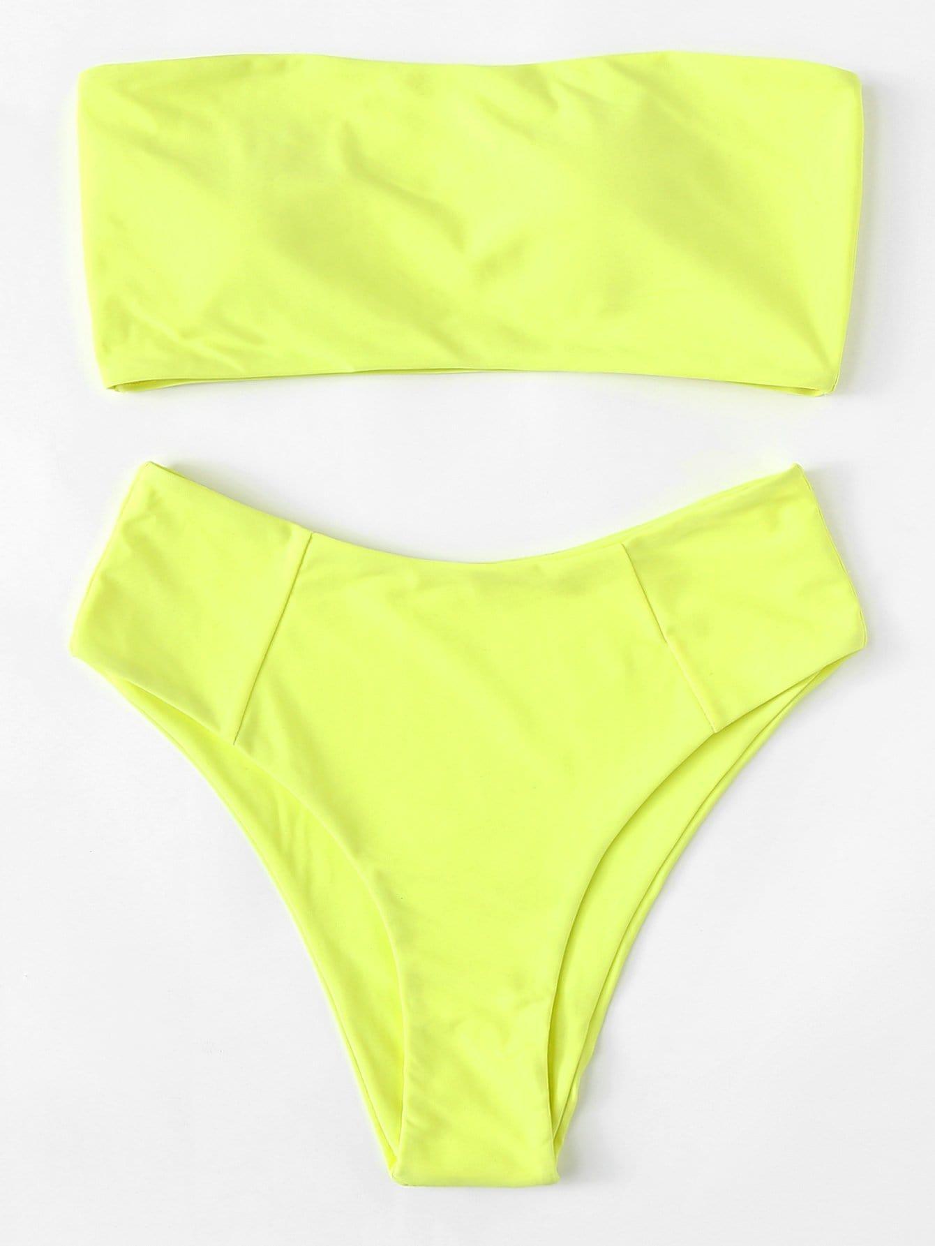 Bandeau Bikini Set цена и фото
