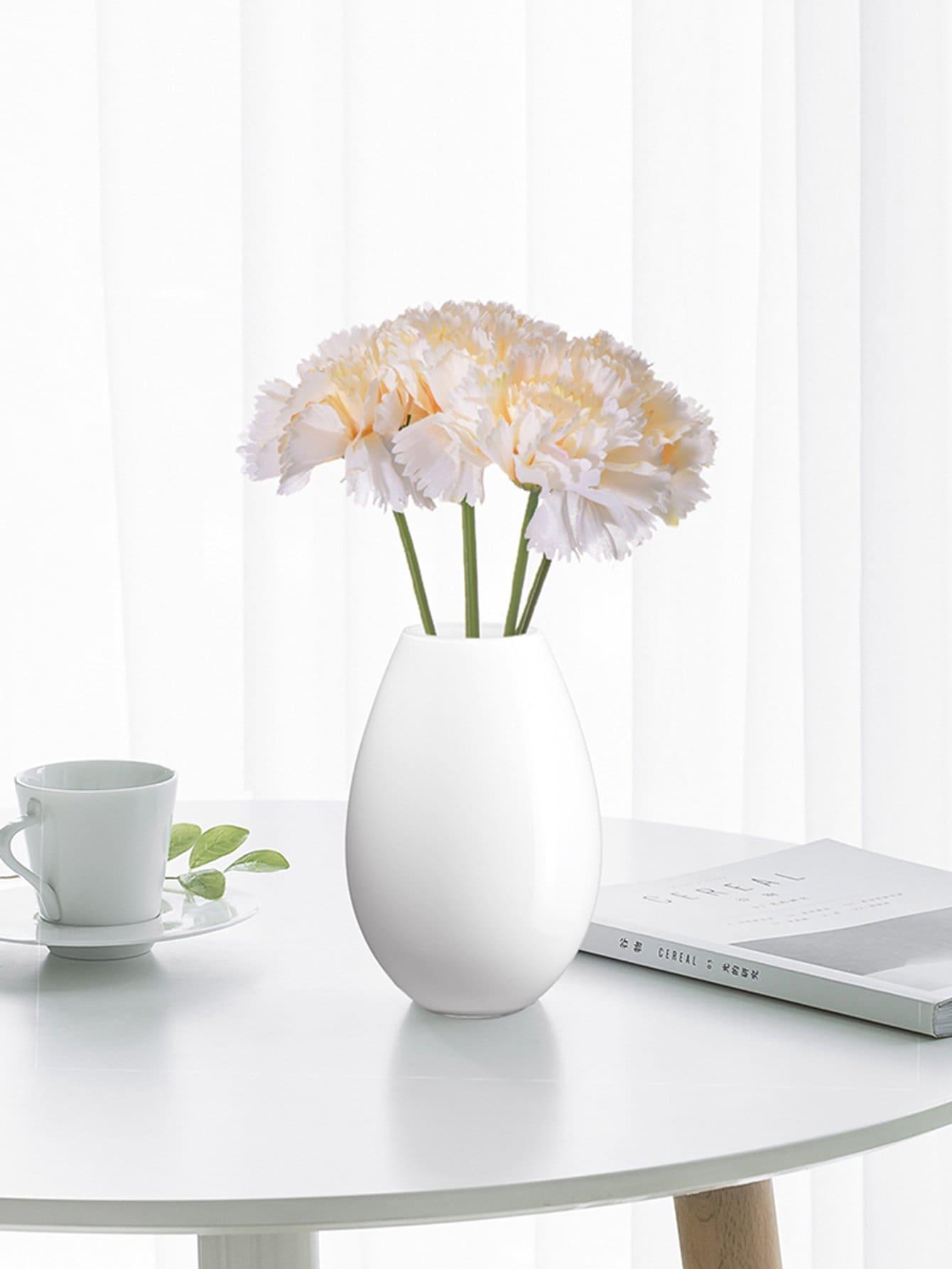 Artificial Bouquet Of 5pcs Carnation